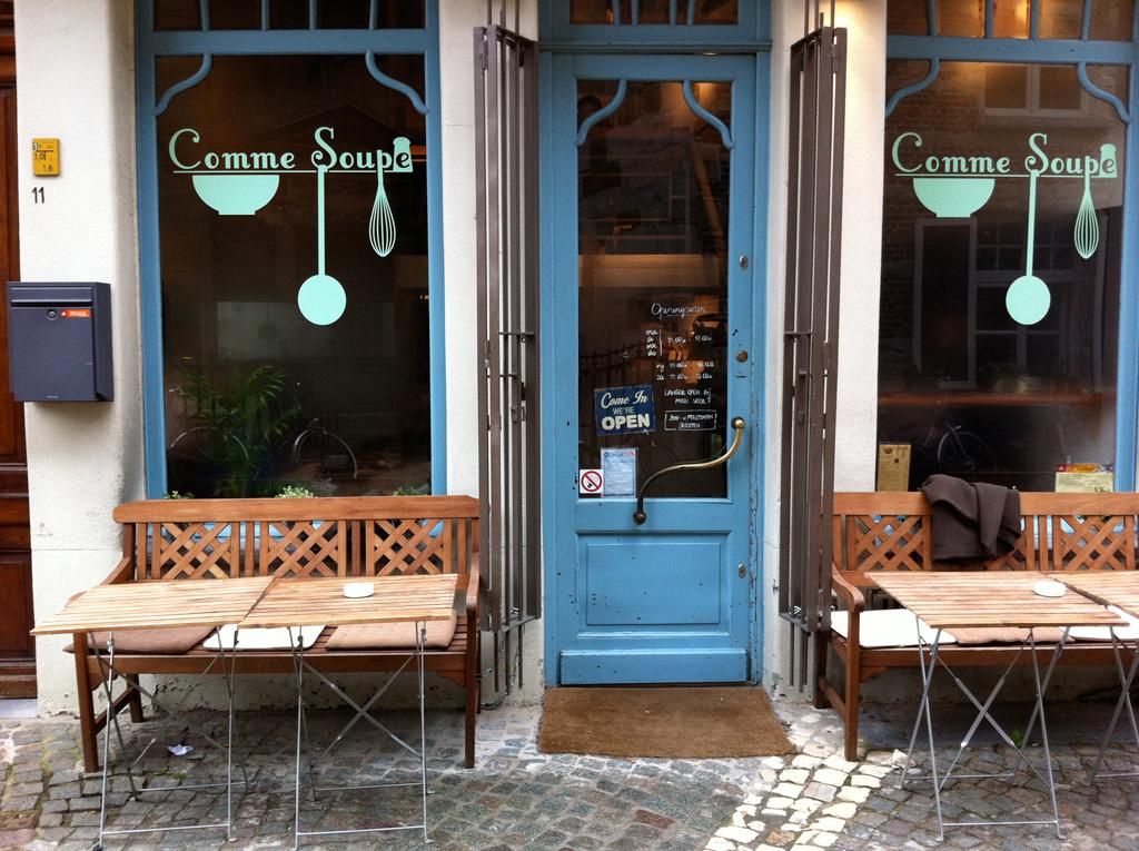 Soepbar Comme Soupe Antwerpen