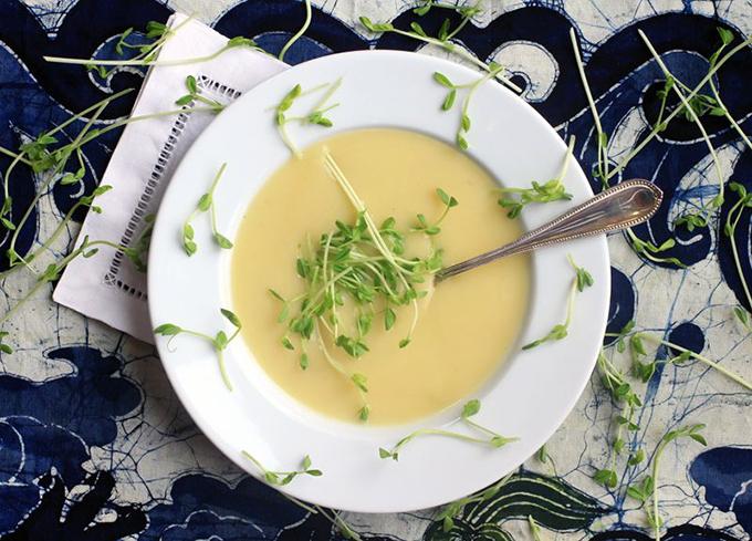 prei-en-aardappelsoep