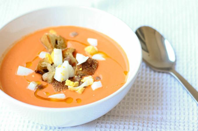 Salmorejo, koude soep uit Andalusië