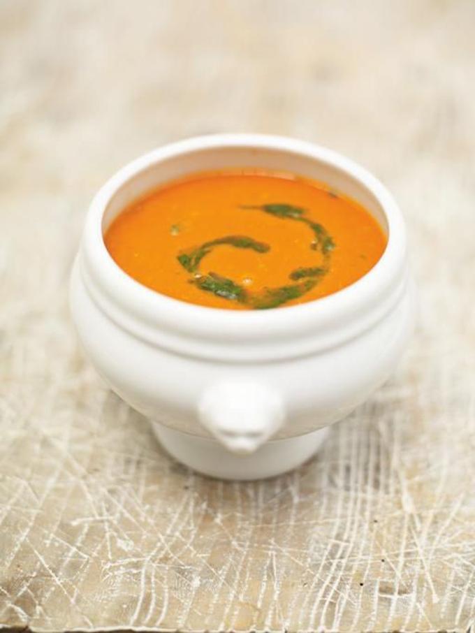 Tomatensoep van Jamie Oliver
