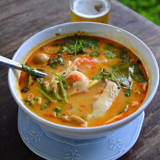 Thaise garnalensoep Tom Yam Kung
