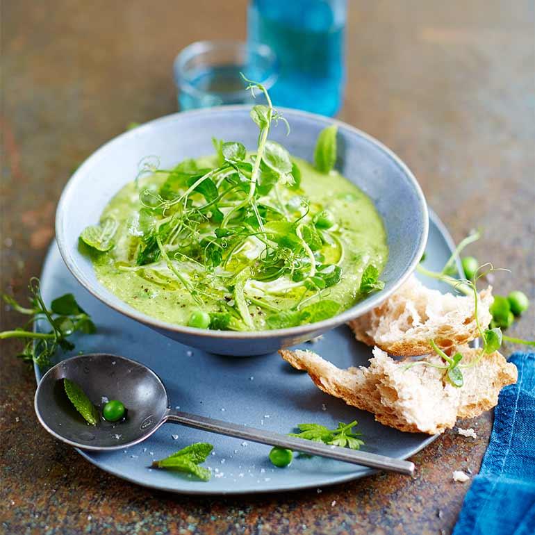 Groene gazpacho van Jamie Oliver