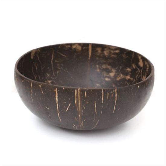 Coconut Bowls - kokosnoot bakje uit Vietnam - 2 stuks