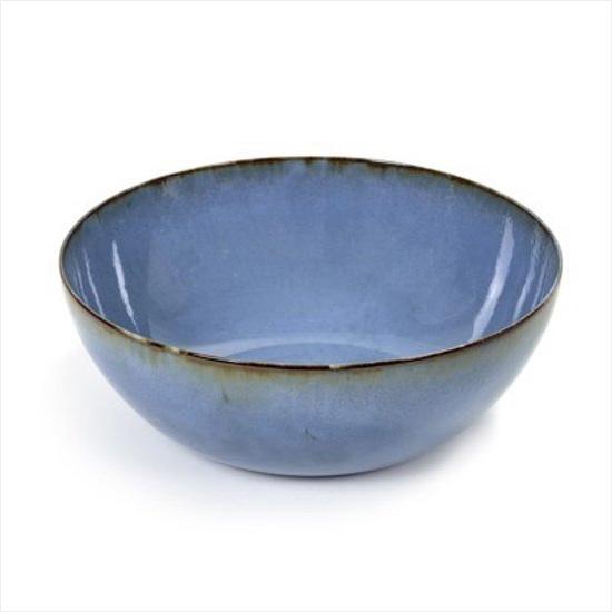 Serax Anita Le Grelle Salad bowl - D27H8,8cm - Smokey blue