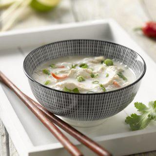 Thaise kippensoep Tom Kha Gai