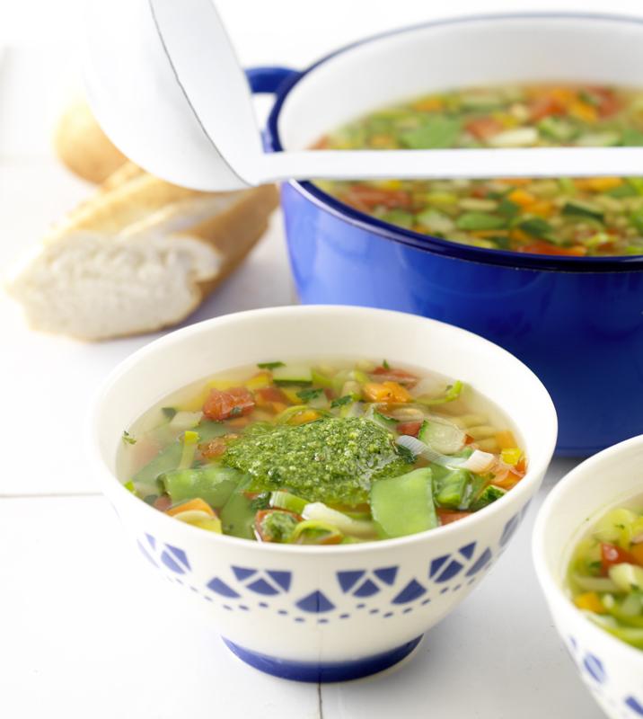 Franse groentesoep met pistou